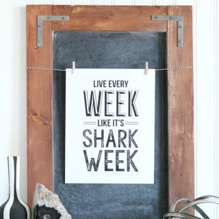 Shark Week Printable