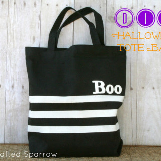 Simple Halloween Tote