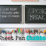 DIY Sheet Pan Chalkboards