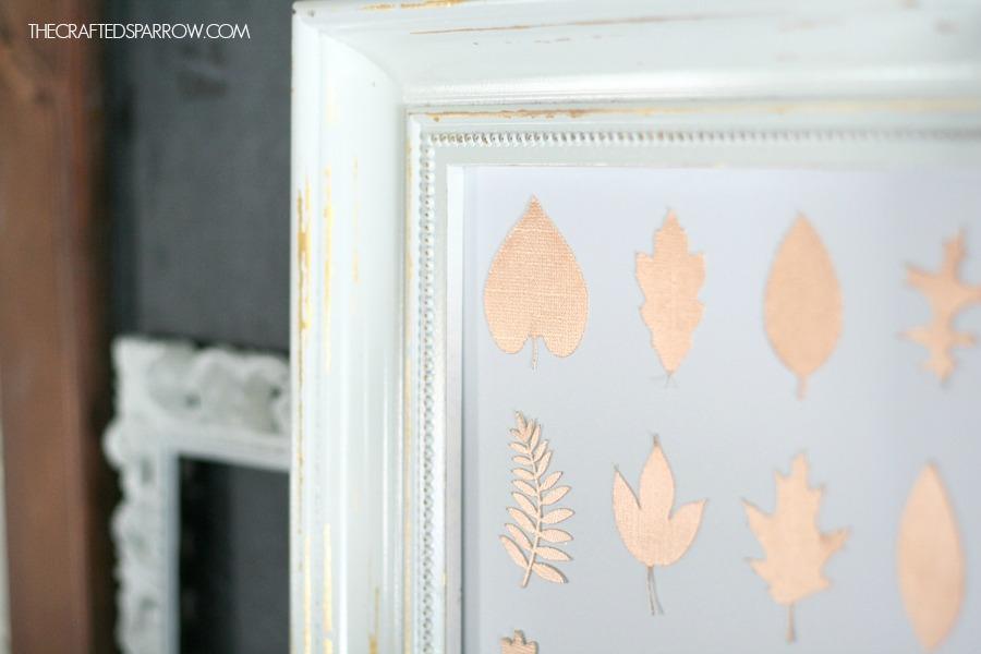 Copper Leaf Specimen Art