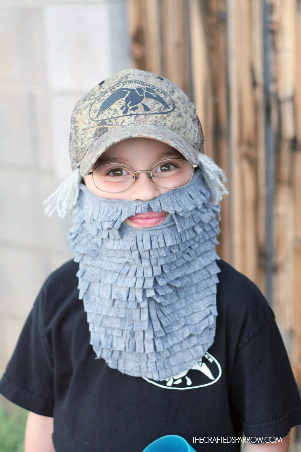DIY Duck Dynasty Costumes  sc 1 st  The Crafted Sparrow & DIY Duck Dynasty Costumes - The Crafted Sparrow