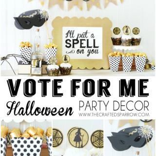 Cricut Design Space Star | Vote for Me!