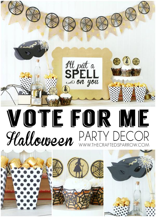 Easy Halloween Garland Vote 2
