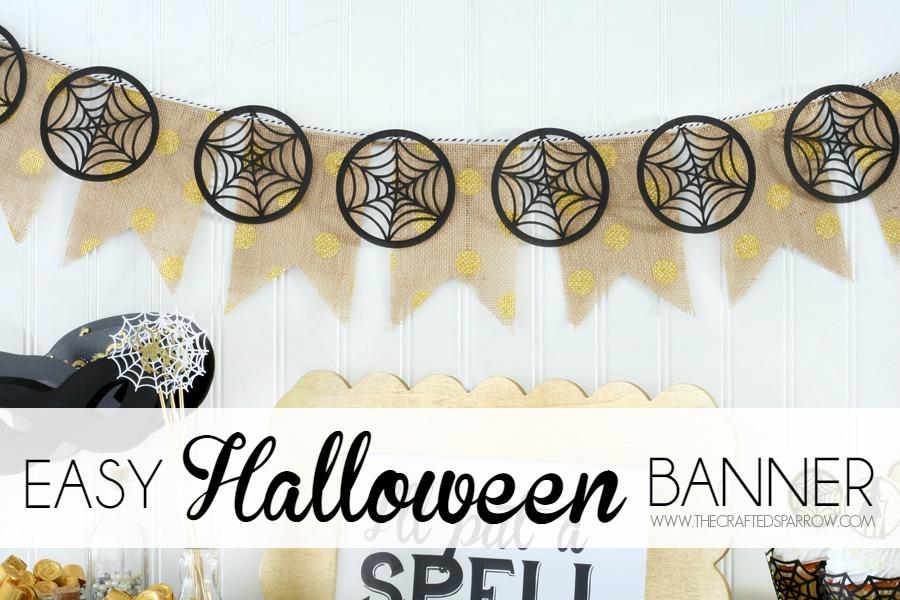 Easy Halloween Banner