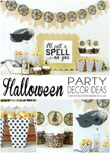 Easy Halloween Party Decor Ideas
