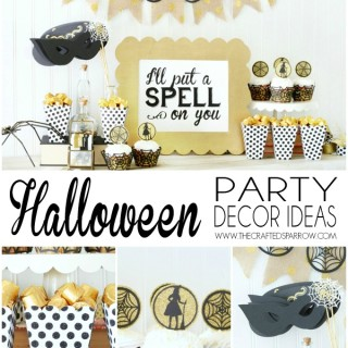 Easy Halloween Party Decor Ideas