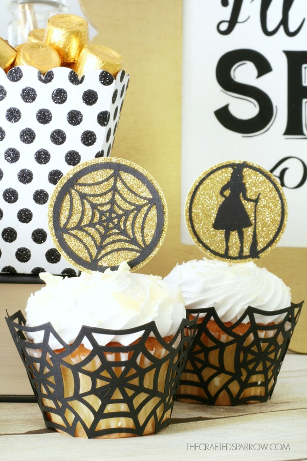Halloween Cupcake Toppers & Wrappers
