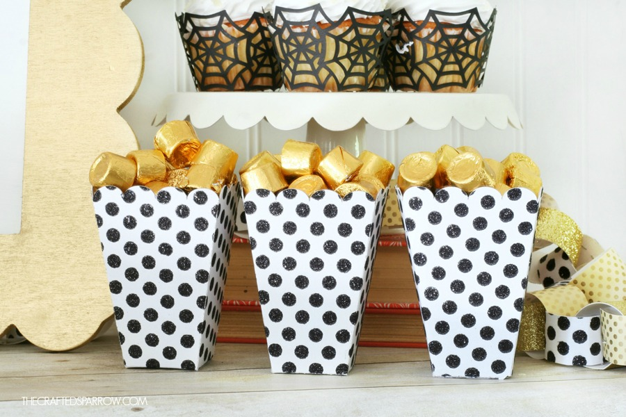 Easy Halloween Treat Boxes