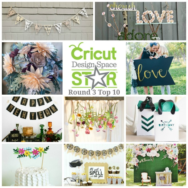 The Crafted Sparrow - Cricut Design Space Star Top 10