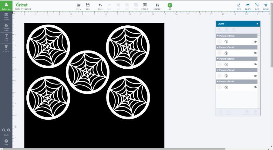 web garland
