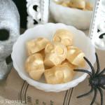 Gold Skull Candies {Dollar Store Craft}