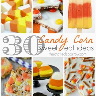 30 Candy Corn Sweet Treats