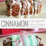 Cinnamon Pull Apart Mini Loaves with West Elm