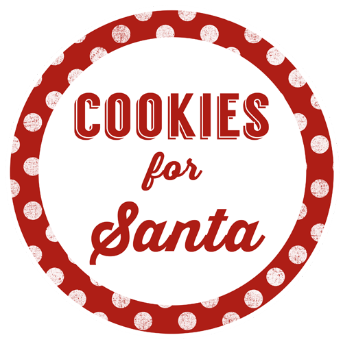 Cookies for Santa Jar Gift & Printables
