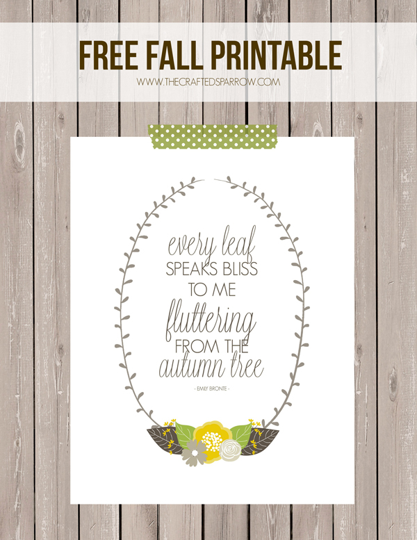 picture relating to Free Fall Printable titled Totally free Tumble Printable