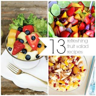 13 Refreshing Fruit Salad Recipes