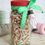 Glittered Jar & Ornament Gift Packaging