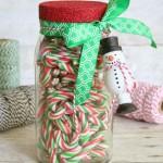 Glittered Jar & Ornament Gift Packaging