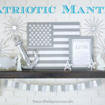 4th of July Patriotic Mantle