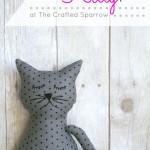 Stuffed Kitty Pillow