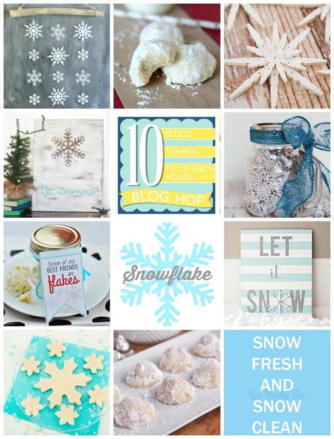 Blog Hop Snowflake