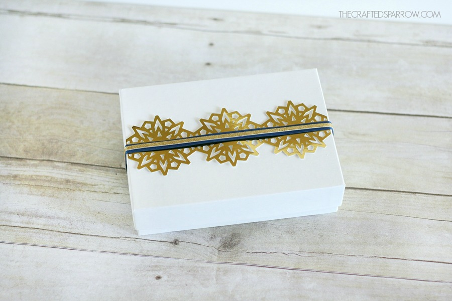 Gift Wrapping Ideas with Cricut Explore