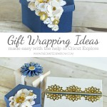 Gift Wrapping Ideas Made Easy with Cricut Explore