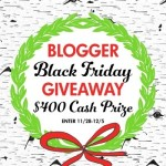 Black Friday Giveaway – $400 Cash Prize