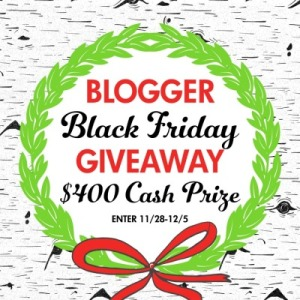 Black Friday Giveaway – $400 Cash Prize