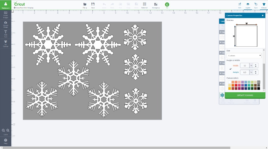 Snowflake Wall Hanging 1