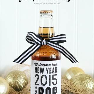 New Years Free Printable Tags