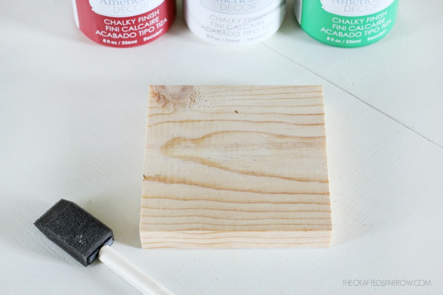 Wood Block Joy Sign 2
