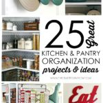 25 Kitchen and Pantry Organization Projects & Ideas