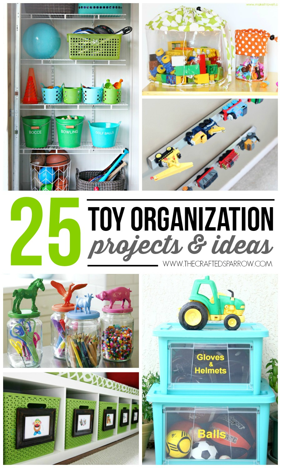25 Toy Organization Projects Ideas