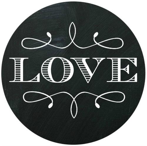 CHALKBOARD ART LOVE 1