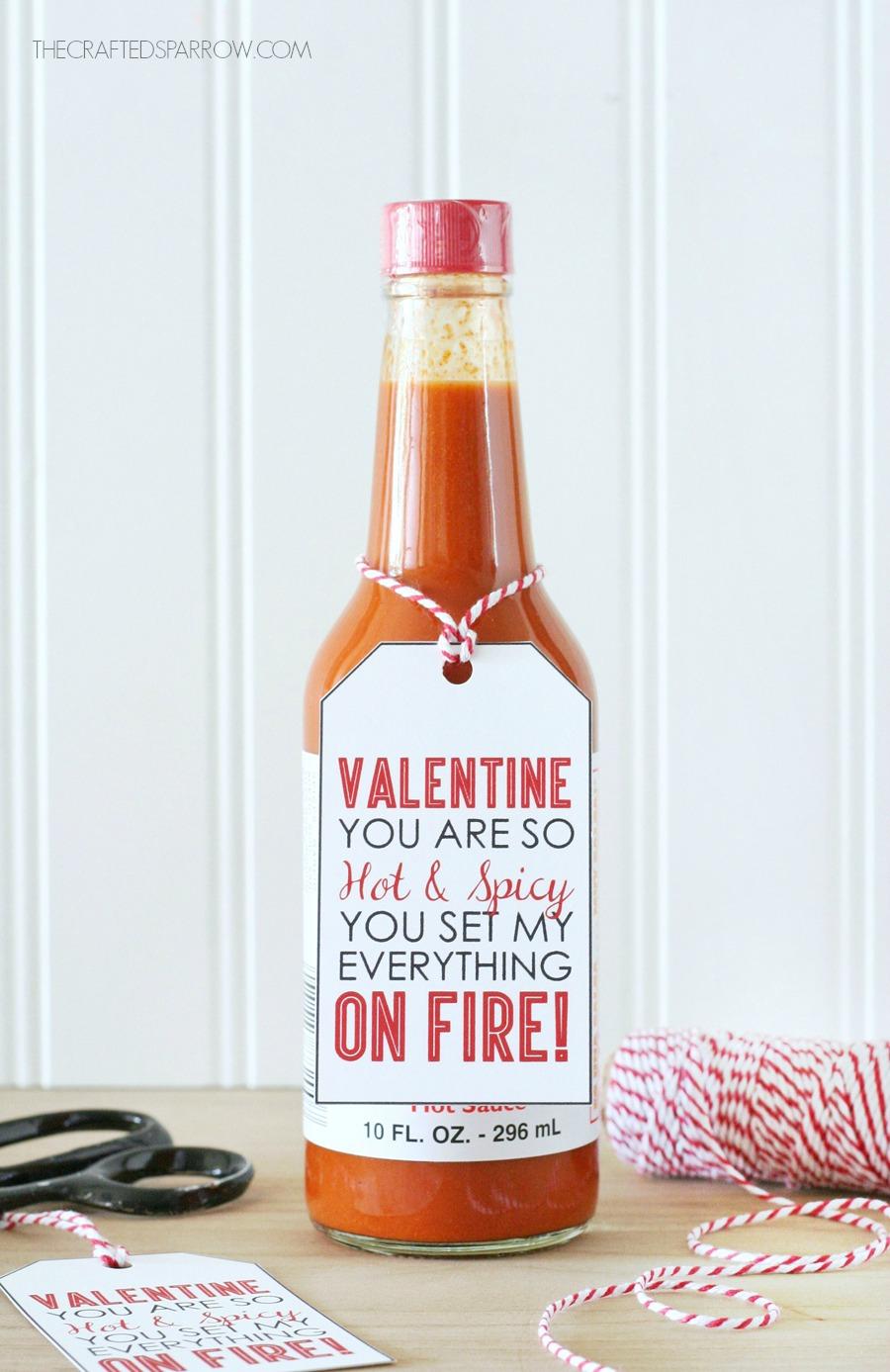 Hot & Spicy Valentine Printables