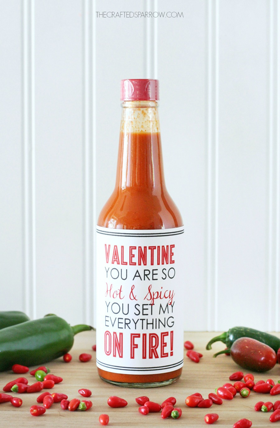 Hot & Spicy Valentine Printables
