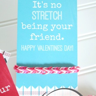 Loom Band Printable Valentine