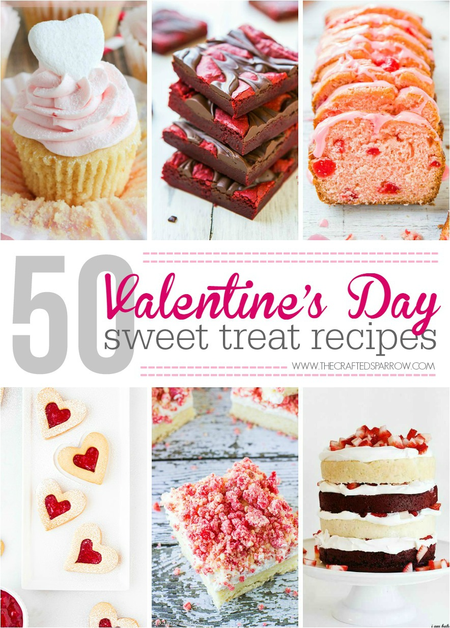 50 Valentine's Day Sweet Treats