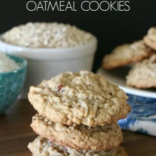 Coconut & Pecan Oatmeal Cookies