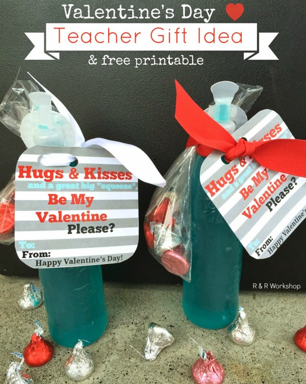 valentine teacher gift idea