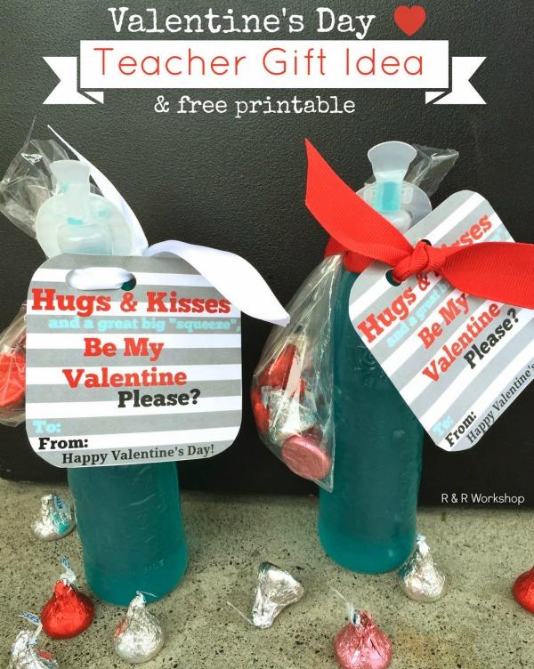 valentine teacher gift idea