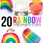 20 Rainbow Craft Ideas