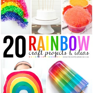 20 Rainbow Craft Ideas