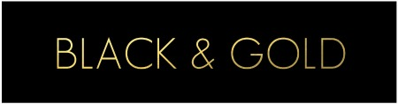BLACK & GOLD TAG