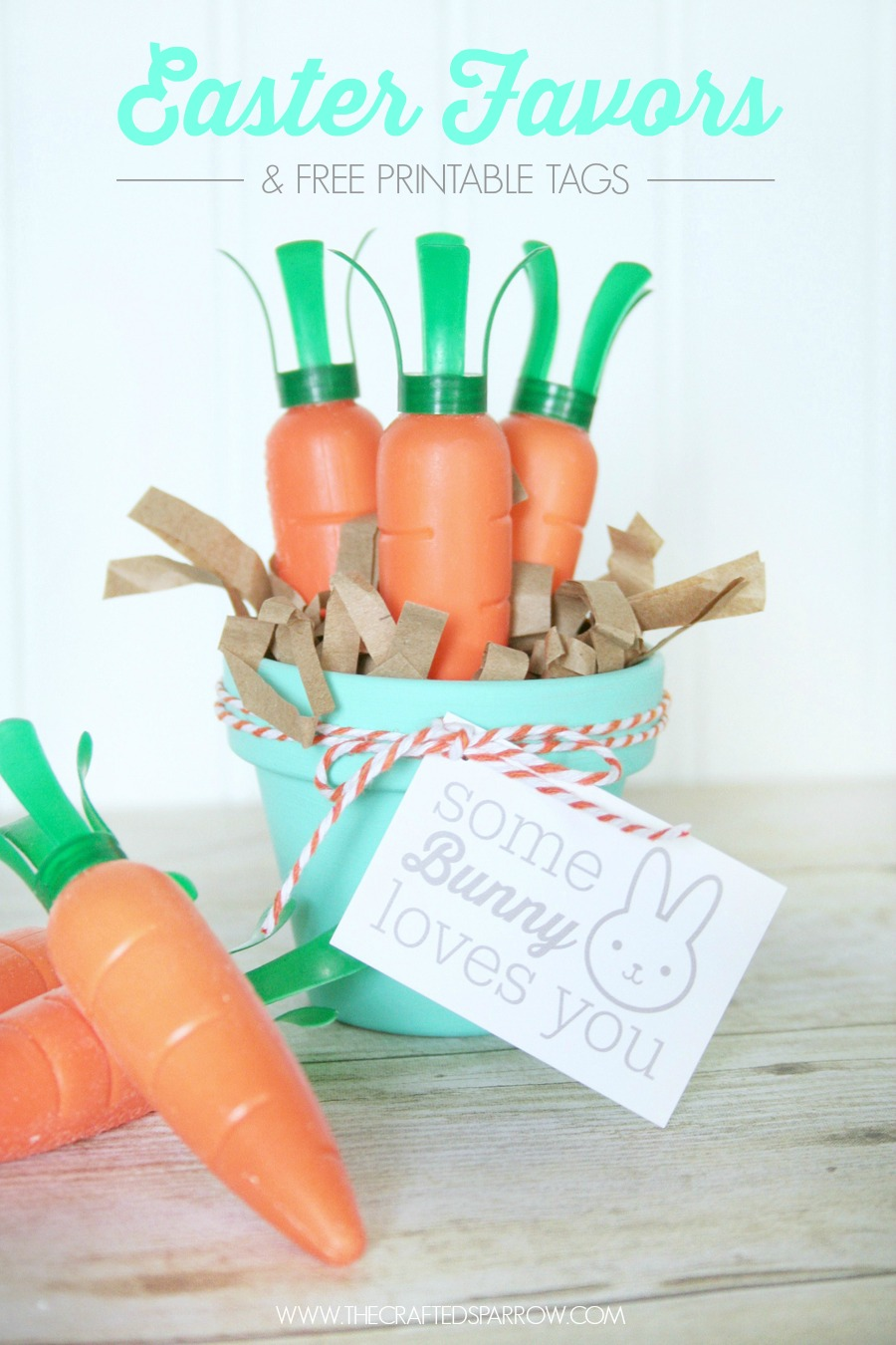 Easy Easter Favors & Printable Tags