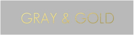 GRAY & GOLD TAG