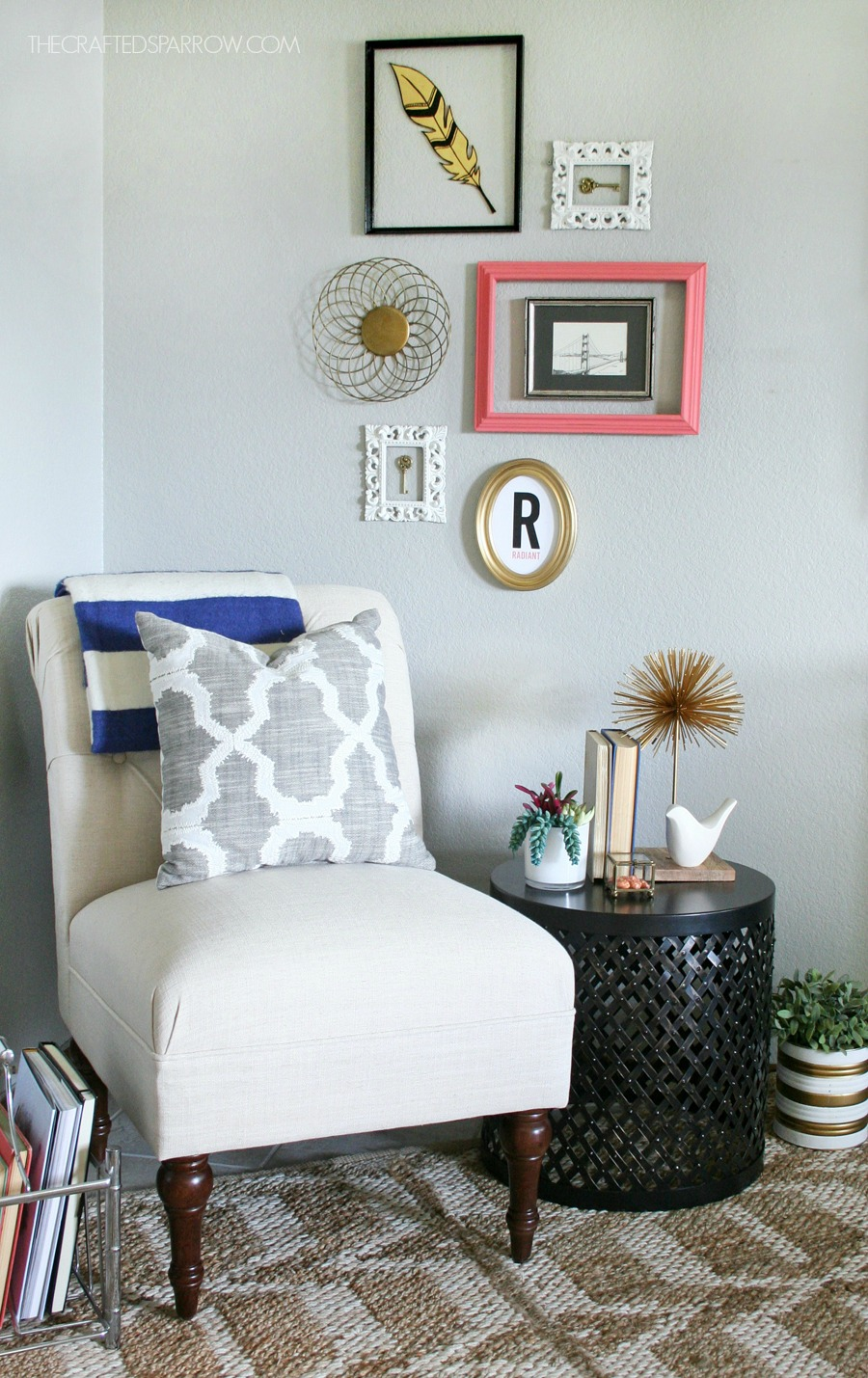 How To Decorate A Loft Living Room Upstairs: How To Pick & Decorate The Right End Table