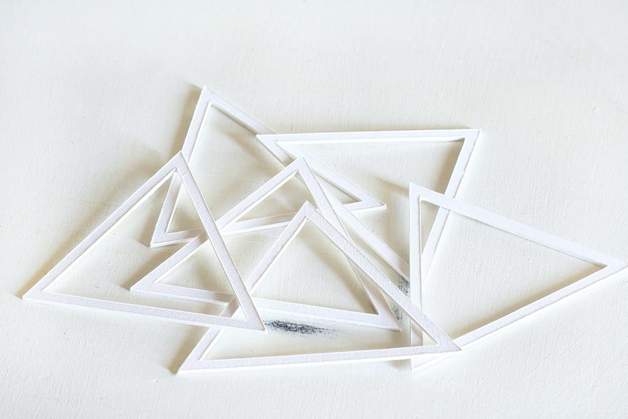 DIY Prism Sculptures
