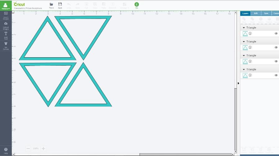 DIY Triangular Prism